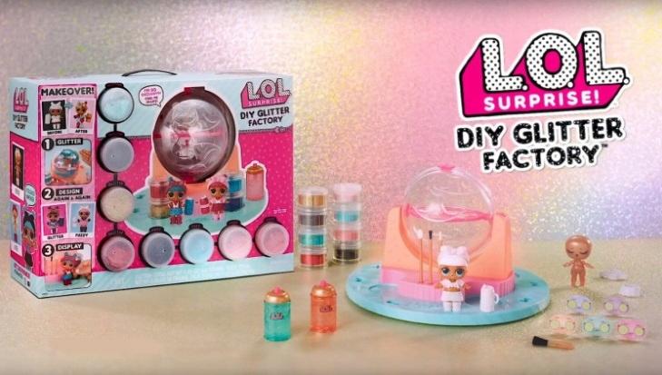 LOL Surprise DIY Glitter Factory Fabryka Brokatu