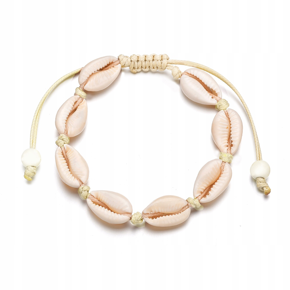 Item Muszelkami BRACELET with cowrie SHELLS SEASHELL