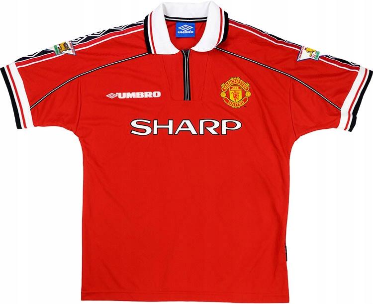 T-tričko MANCHESTER UNITED 1998/1999 - RETRO-rok.XXL