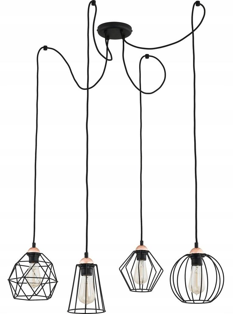 Moderná lampa prívesok svetlo GALAXY SPIDER žinku loft