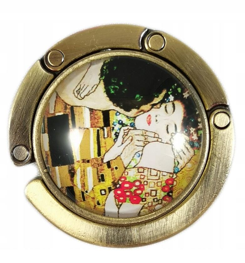 Вешалка для сумочки Kiss от Г. Климта The Kiss