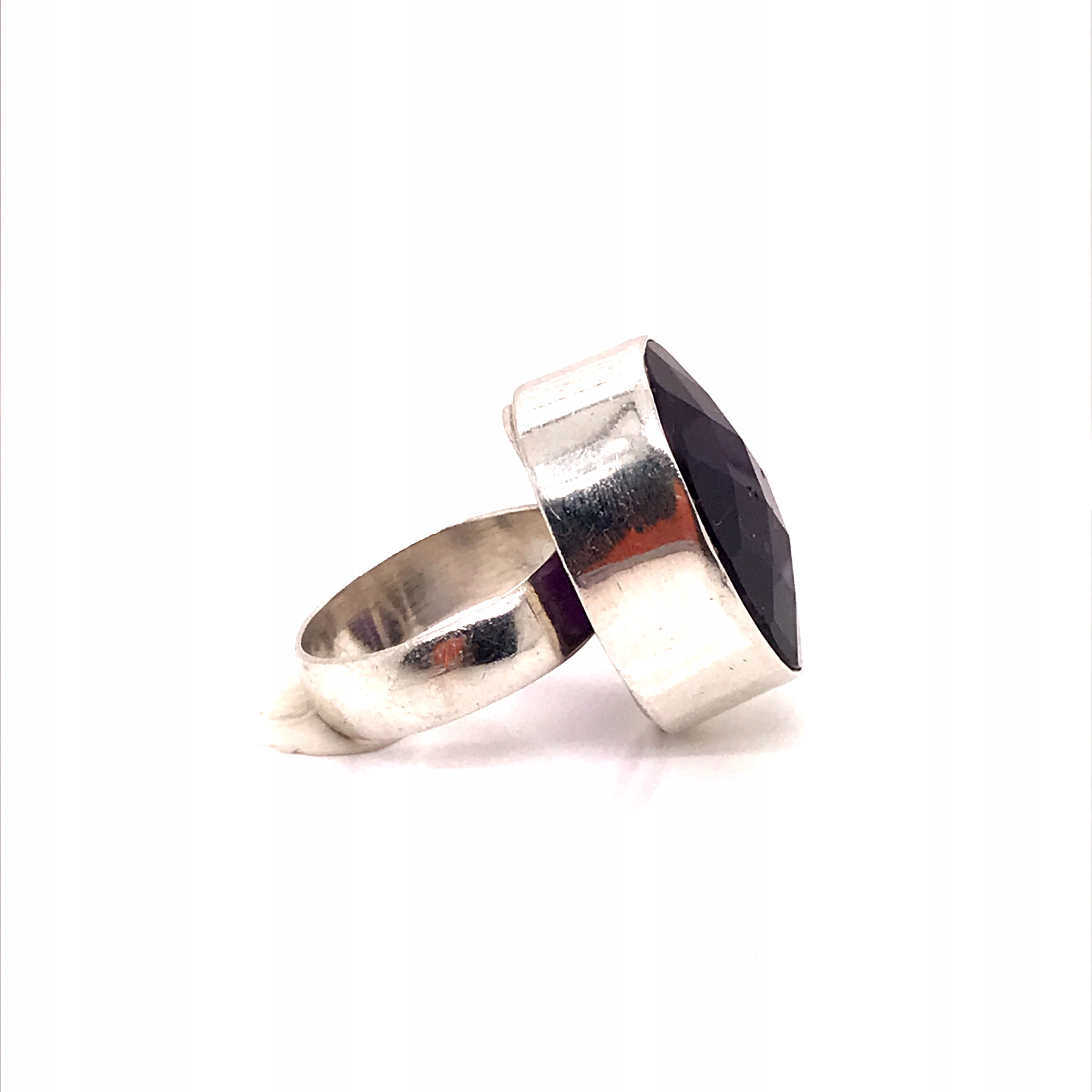 925 STERLING SILVER RING S AMETYSTEM