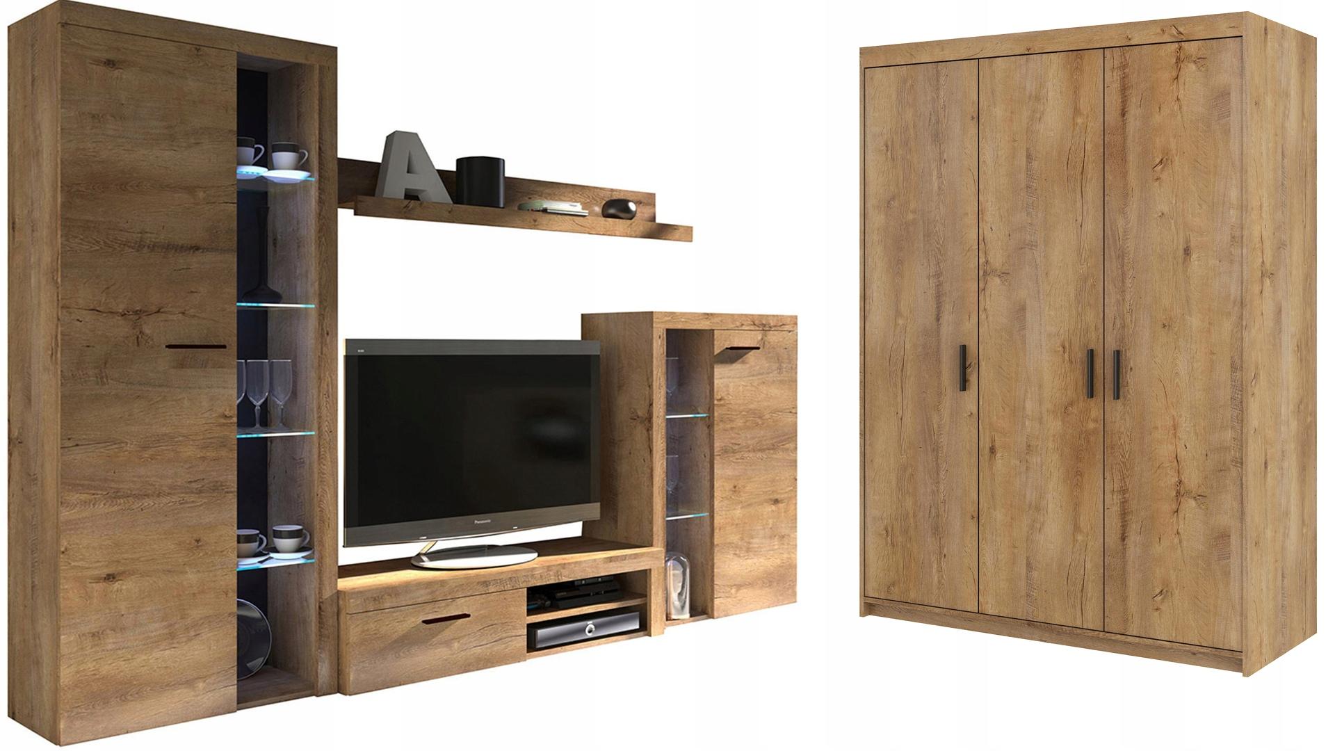 Стенка и шкаф 3D SAMBA Салон - ??? Лефкас