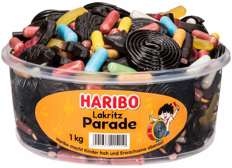 Haribo Gummies Lukrecja Parade 1 кг из Германии