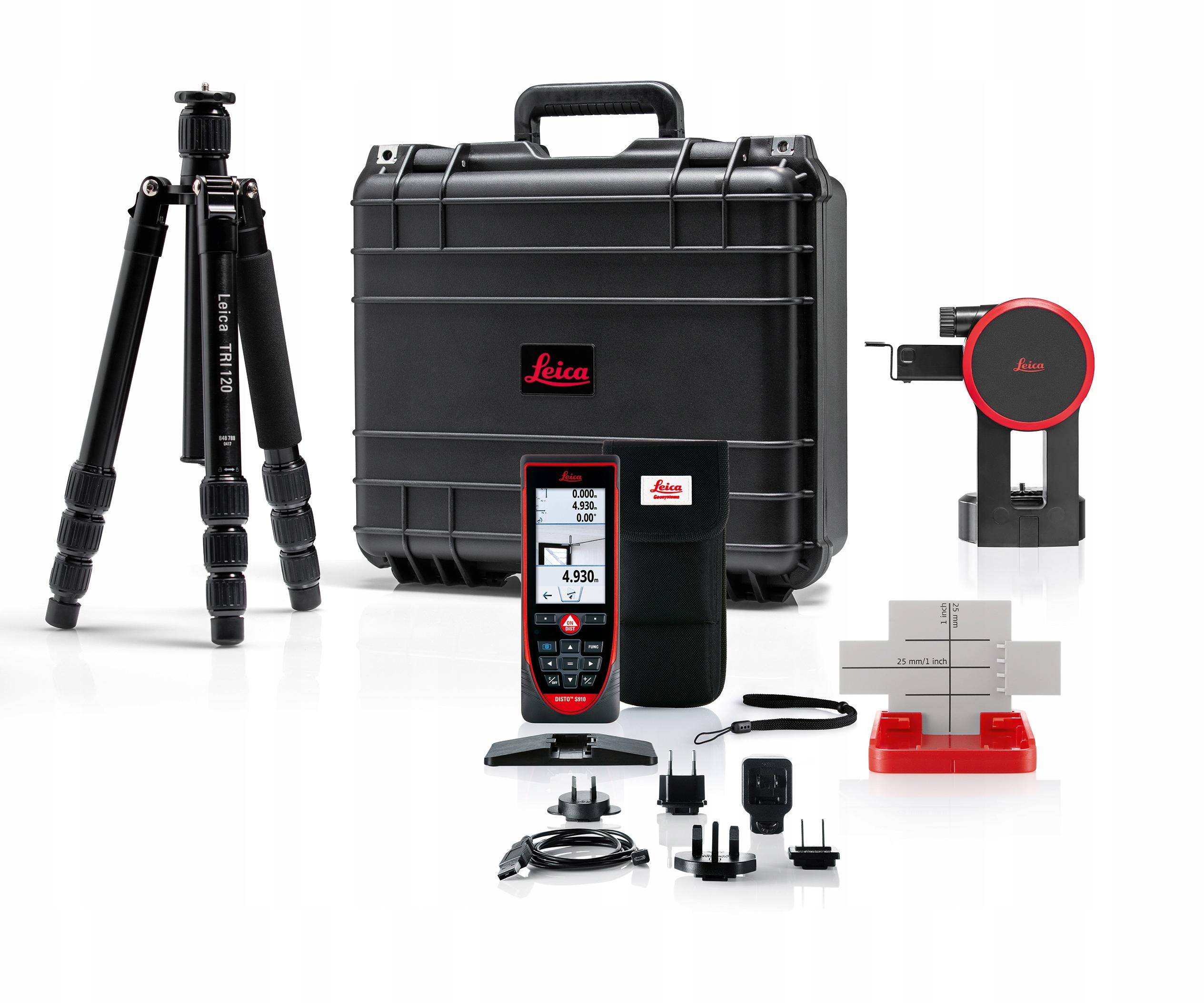 Лазерный дальномер Leica Disto S910 комплект P2P