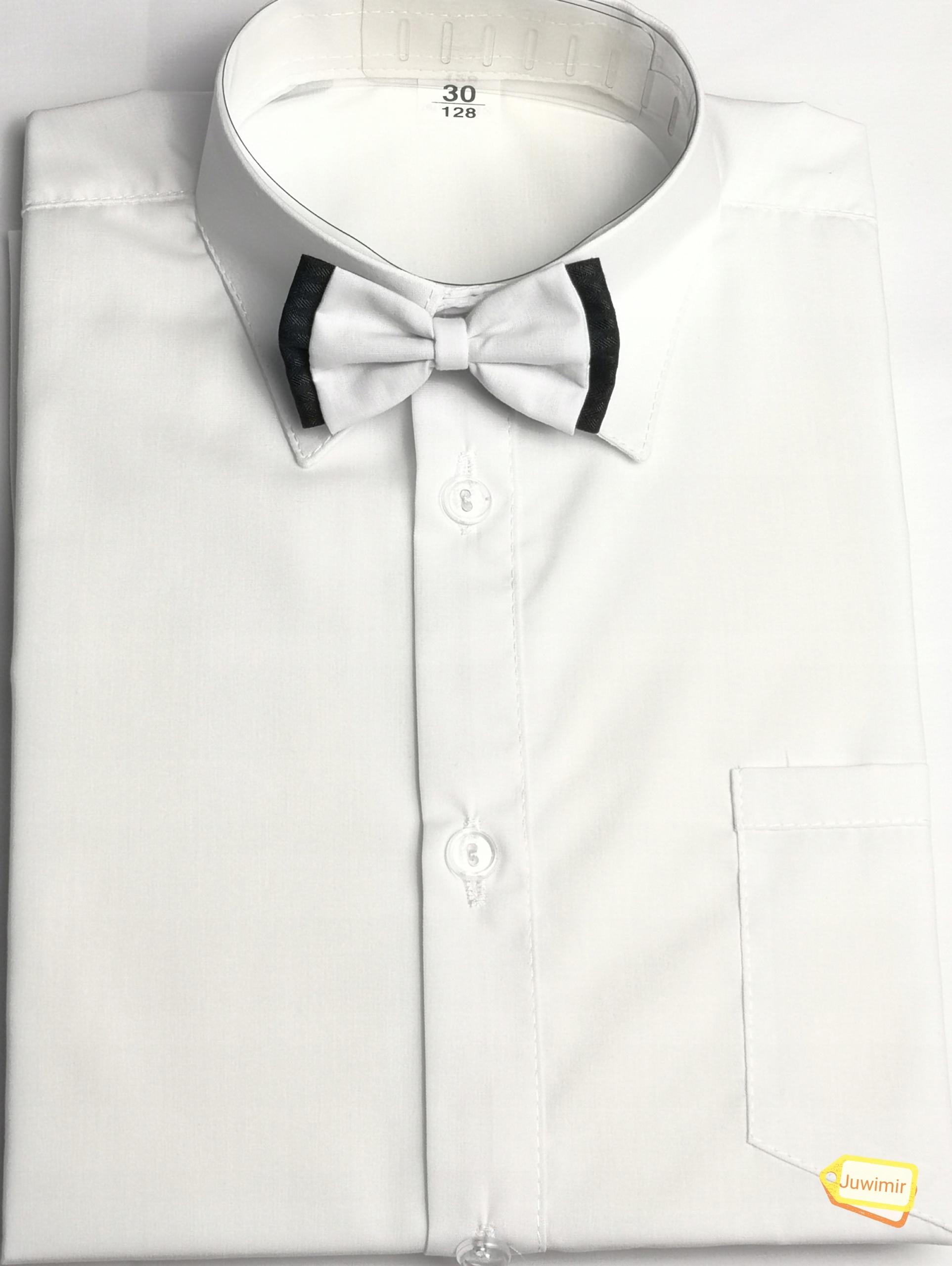 146 DBJ Biała koszula komunijna długi rękaw PL 8667989032