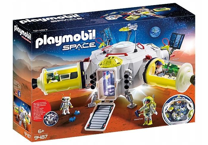 Stanica PLAYMOBIL 9487 Mars