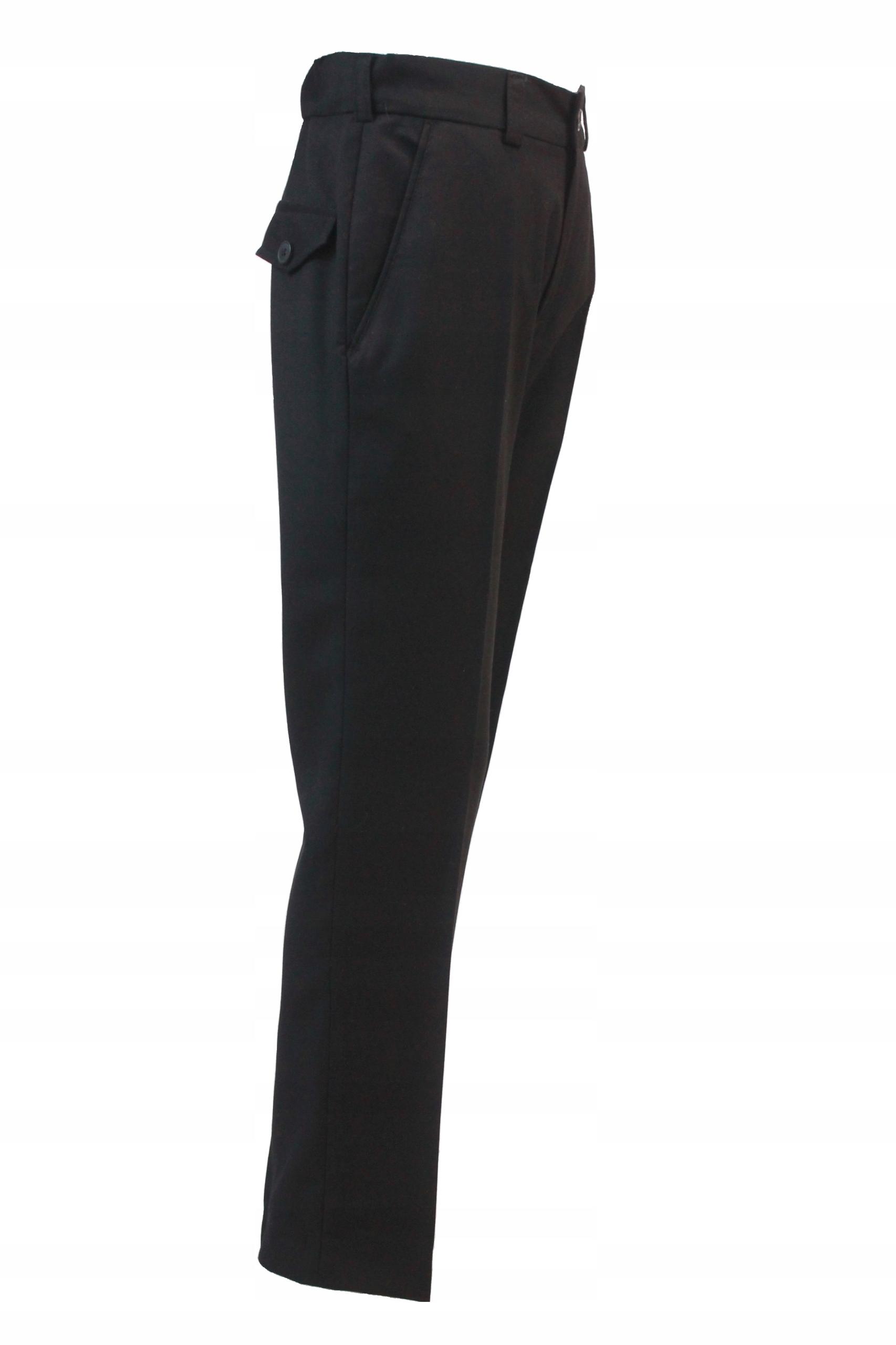 Garniturowe SOMIR nohavice čierna veľkosti.152 XXL