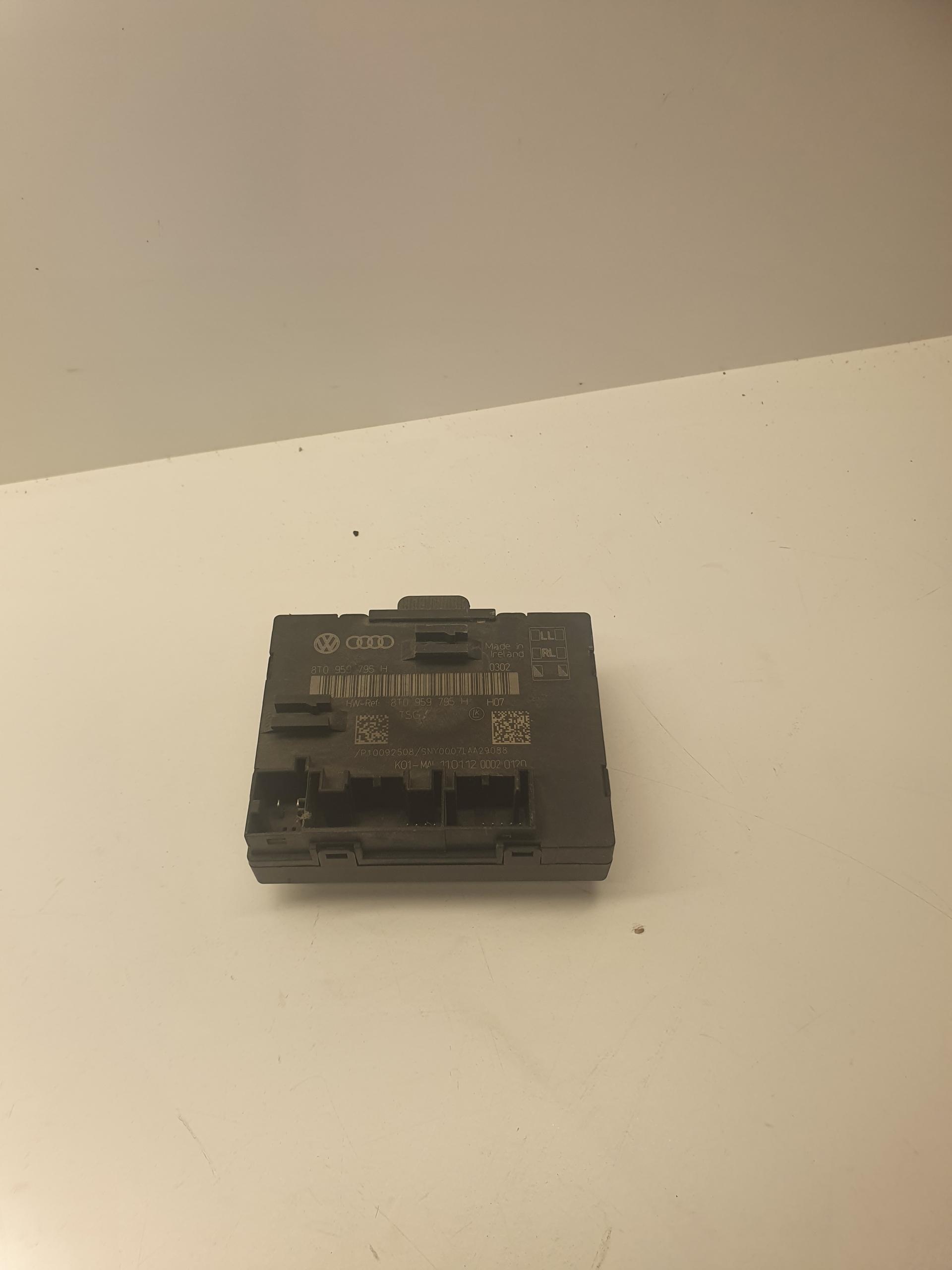 модуль драйвер двери audi a4 b8 a5 q5 8t0959795h
