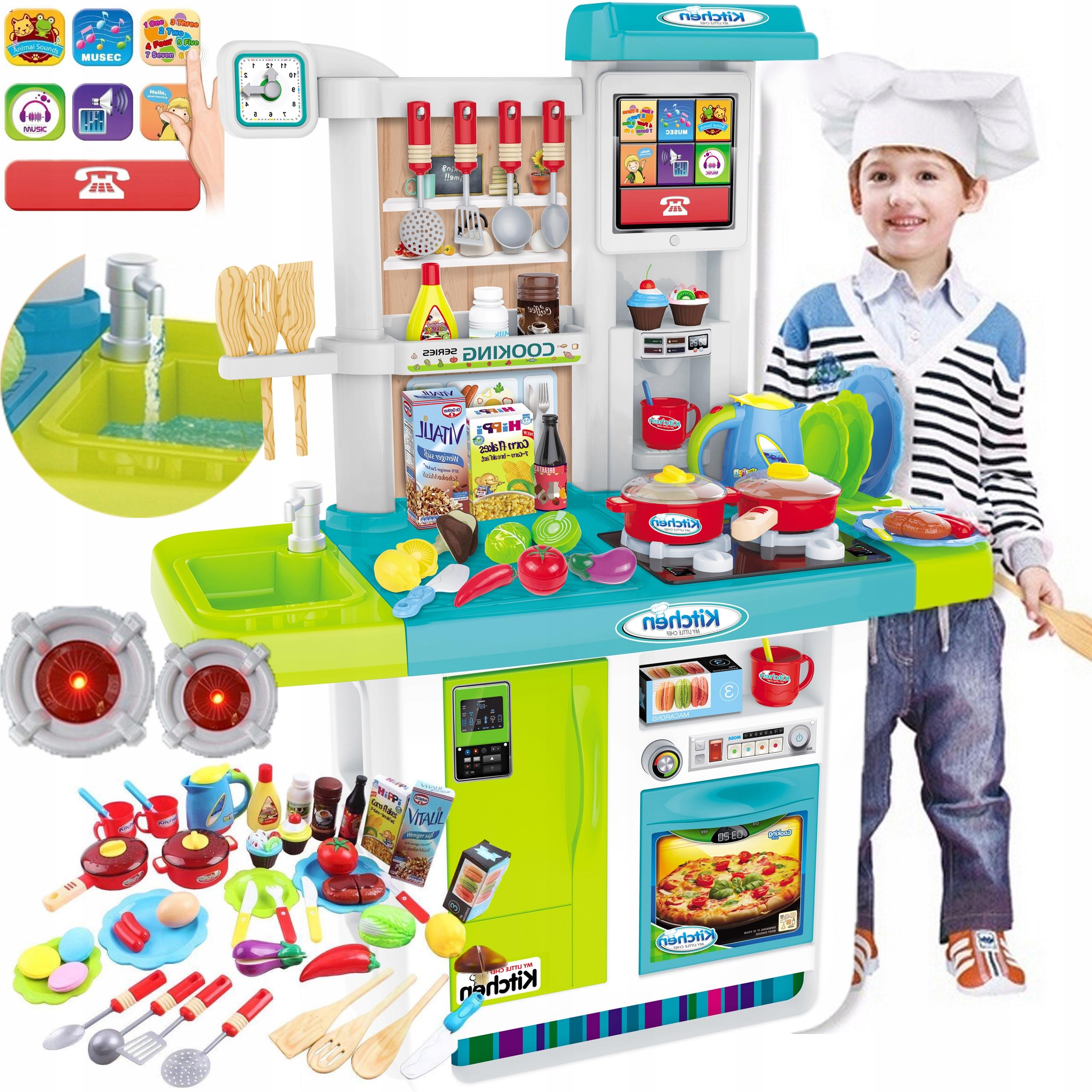 Sporák pre deti VEĽKÉ zvuky Voda Kuchyňa
