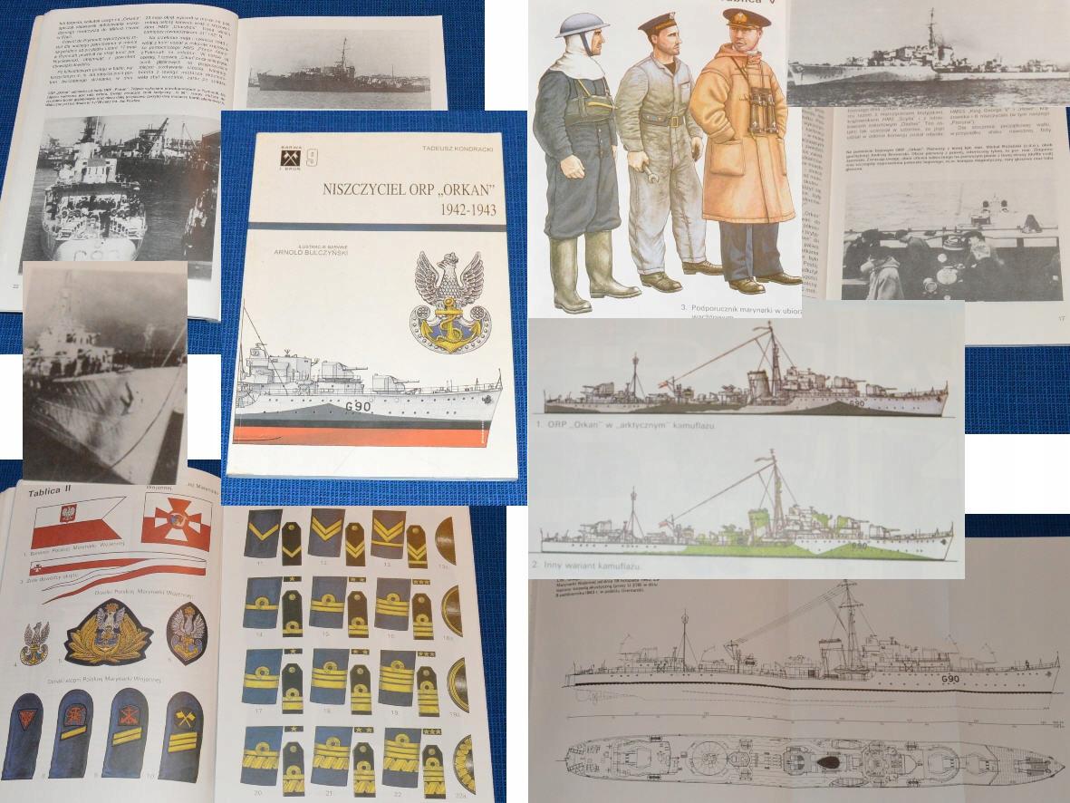 'Эсминец ORP Orkan 1942-1943 гг.'