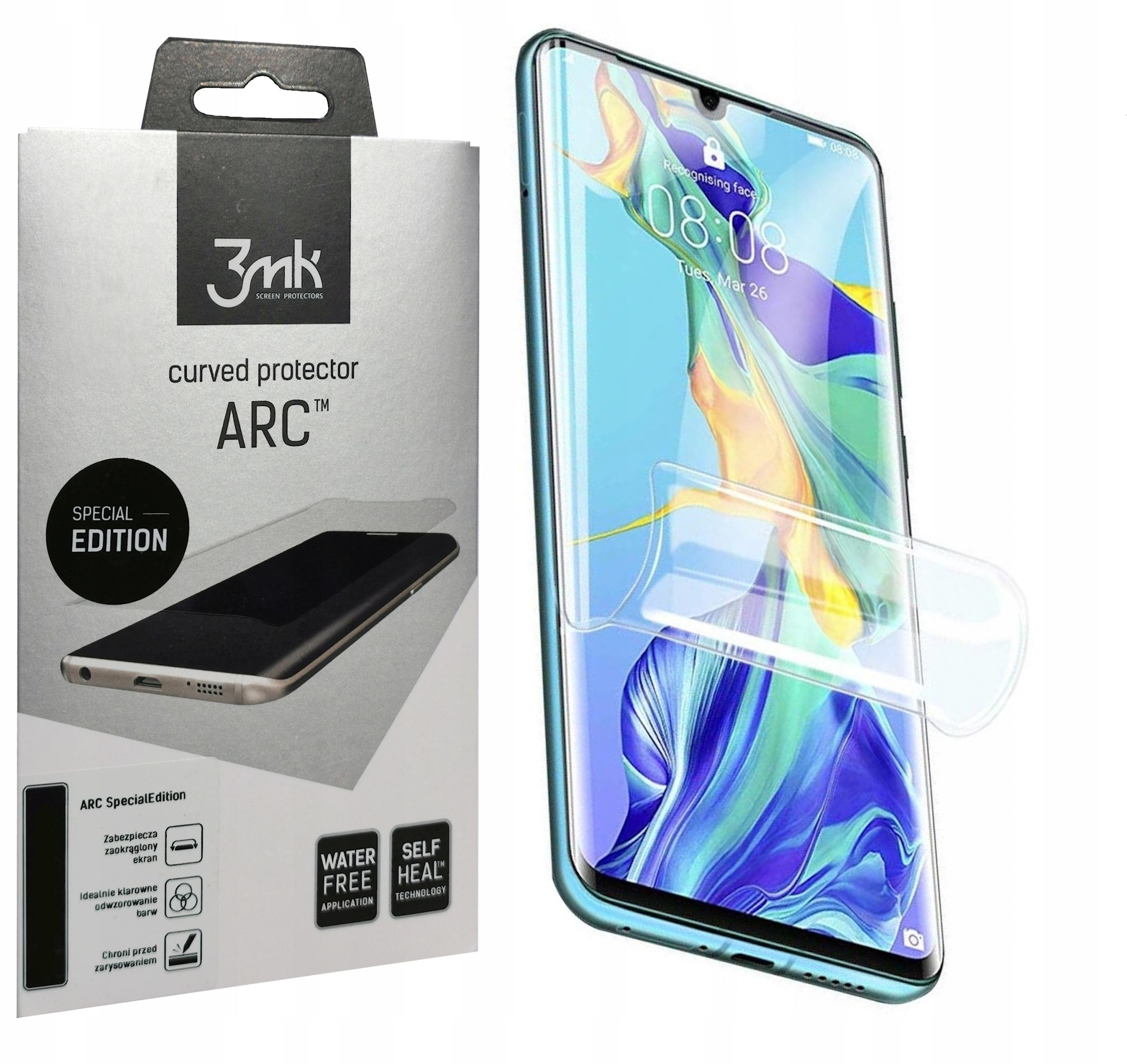 3MK Arc Folia Na Cały Ekran Huawei P30 Pro