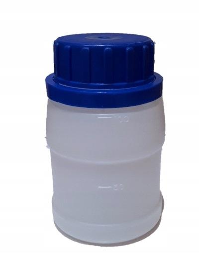 BUTELKA PLASTIKOWA HDPE 0,1L Z NAKRĘTKĄ 10szt