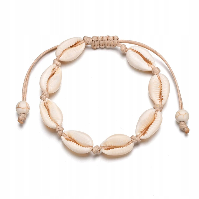 Item Bracelet white cream shell shell bali shell