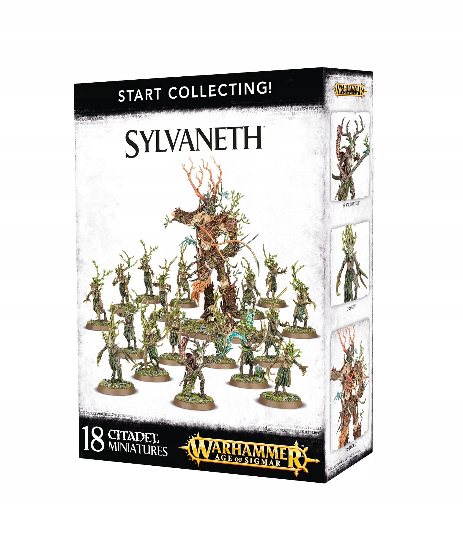 Začnite zbierať Sylvath Warhammer AOS