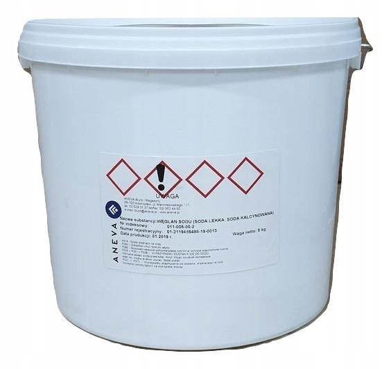 Легкая кальцинированная сода карбонат натрия 5 wiadro ведро ru