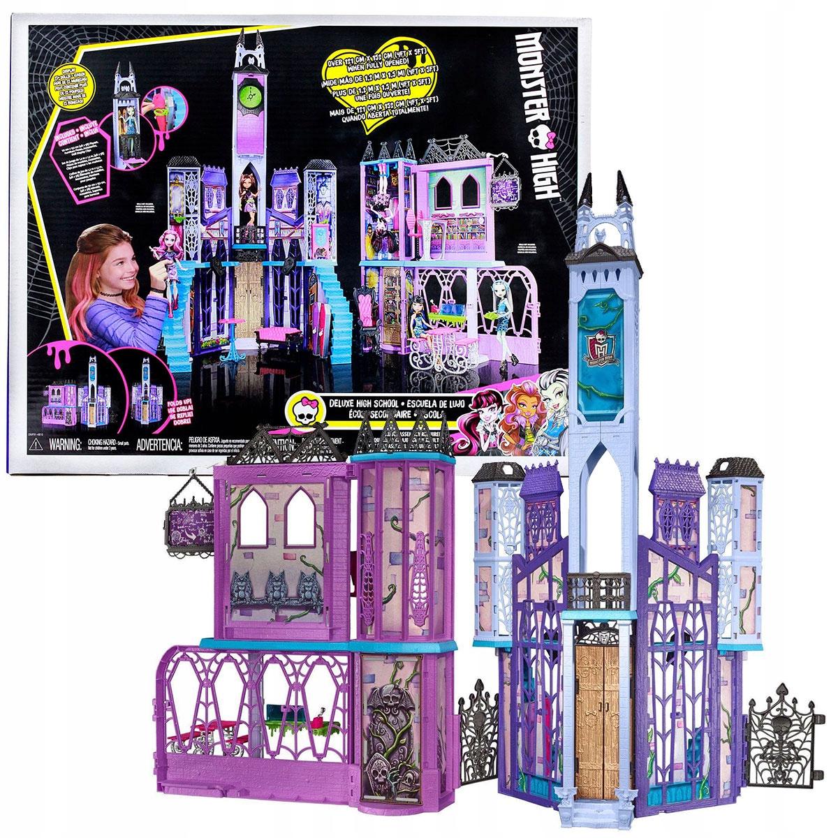 Monster High Straszyceum Deluxe School XXL DMF91