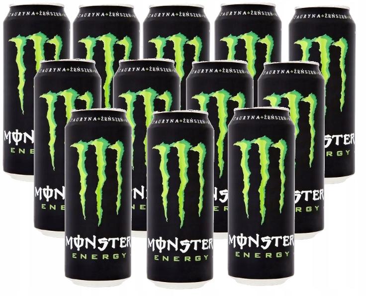 MONSTER ENERGY drink 500 ml x 12 Ks