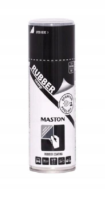 MASTON жидкая резина-спрей для дисков 400 мл черный błys
