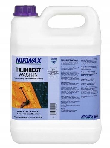 Kvapalina pre Impregnácia pre oblečenie NIKWAX TX Direct 5 HP