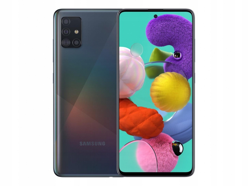 Item Samsung Galaxy A51 128GB czarny black
