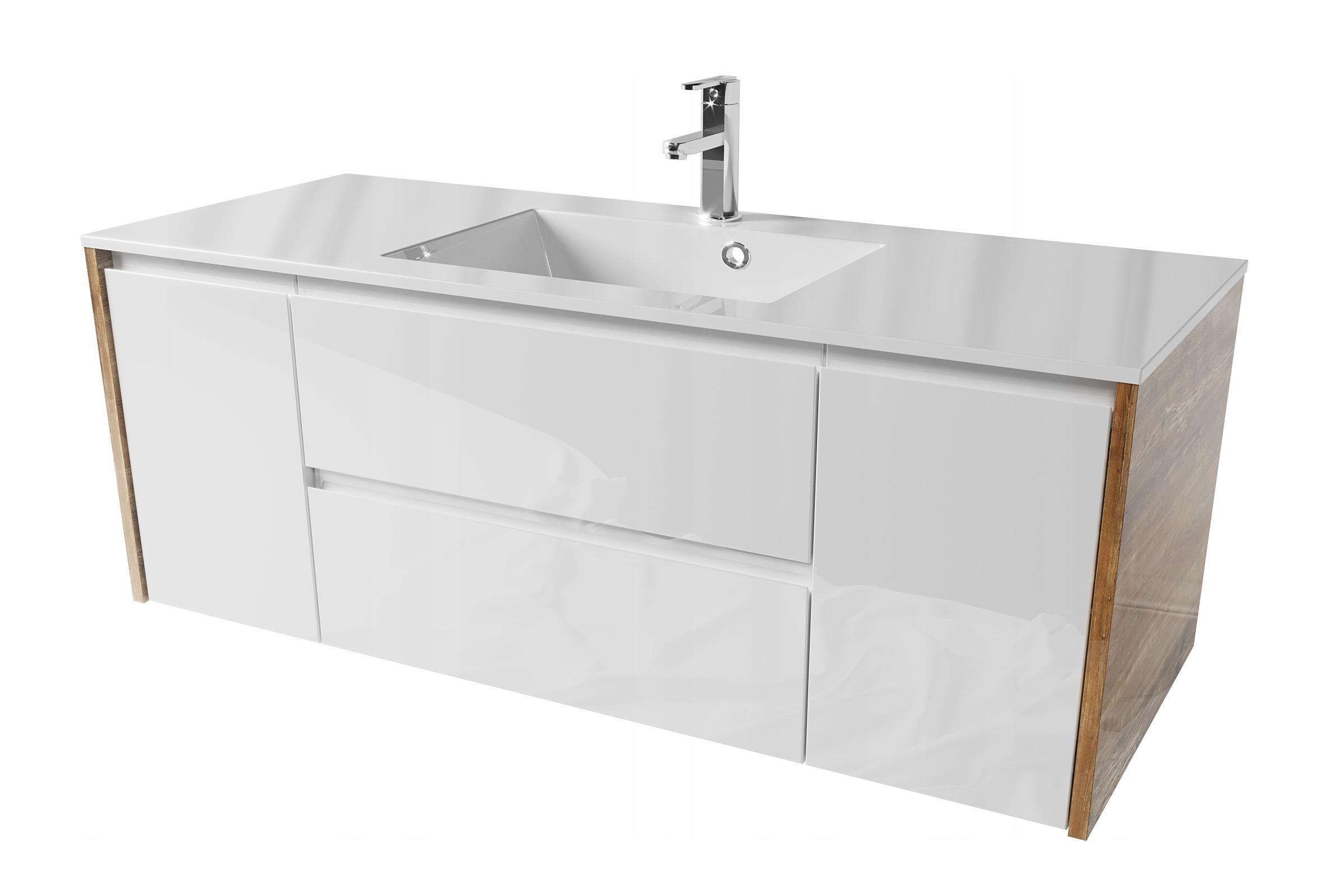 Kúpelňová skrinka 120 x 48 ECTOR RETRO