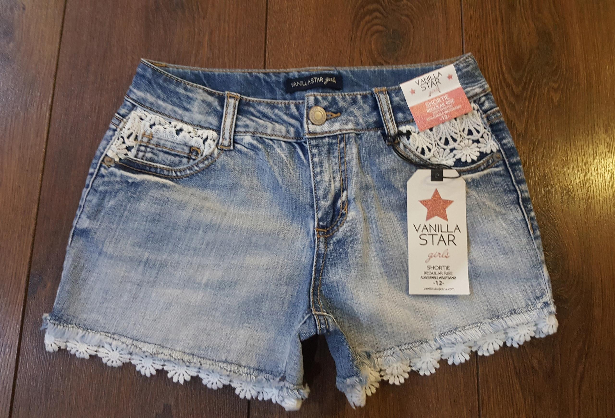 Vanilka Star Jeans original šortky z USA 152
