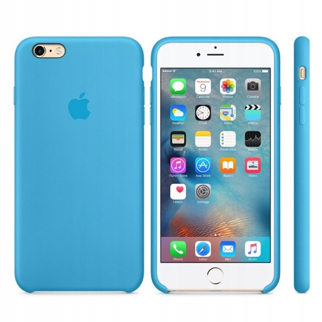 Etui silikonowe iPhone 6/iPhone 6S (Blue)
