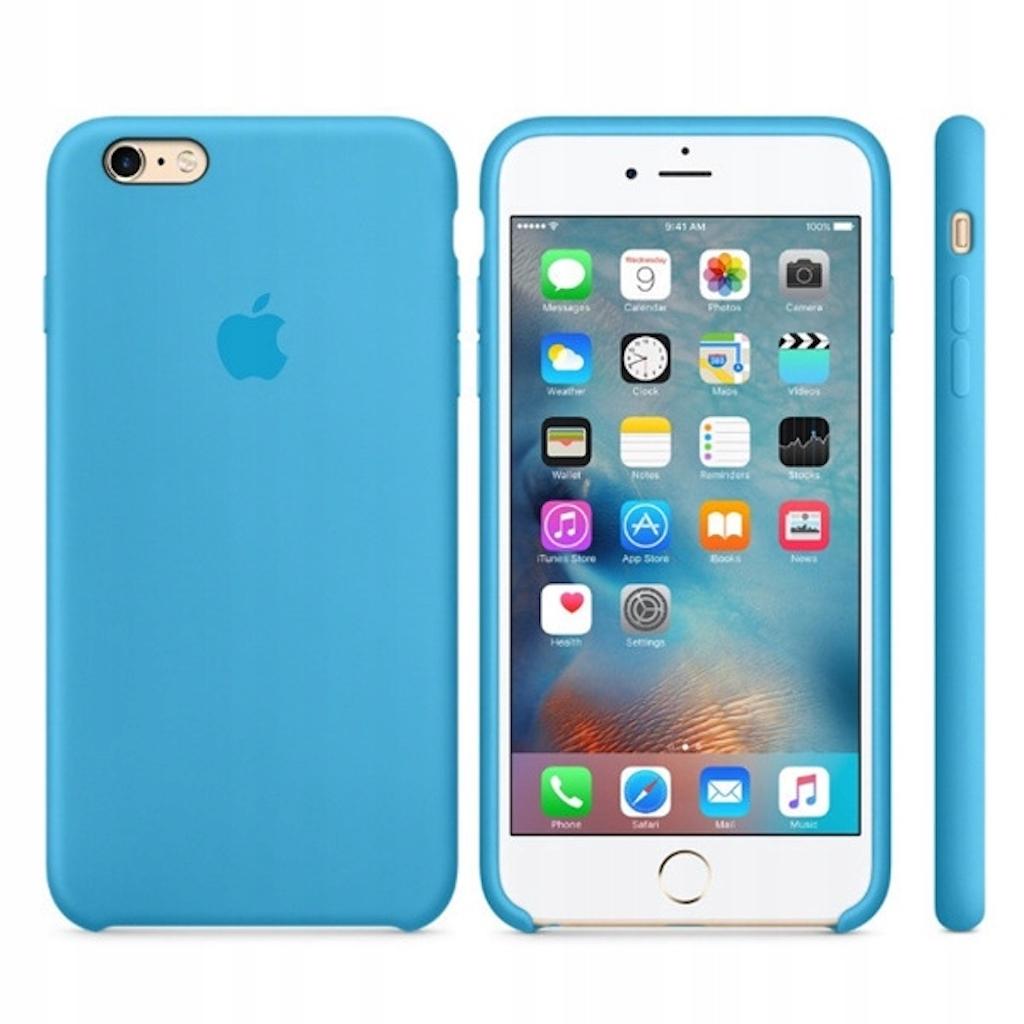 Etui silikonowe iPhone 6/iPhone 6S (Blue)
