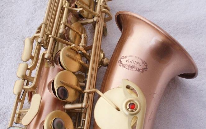 Купить Альт-саксофон VENTURO red brass на Otpravka - цены и фото - доставка из Польши и стран Европы в Украину.