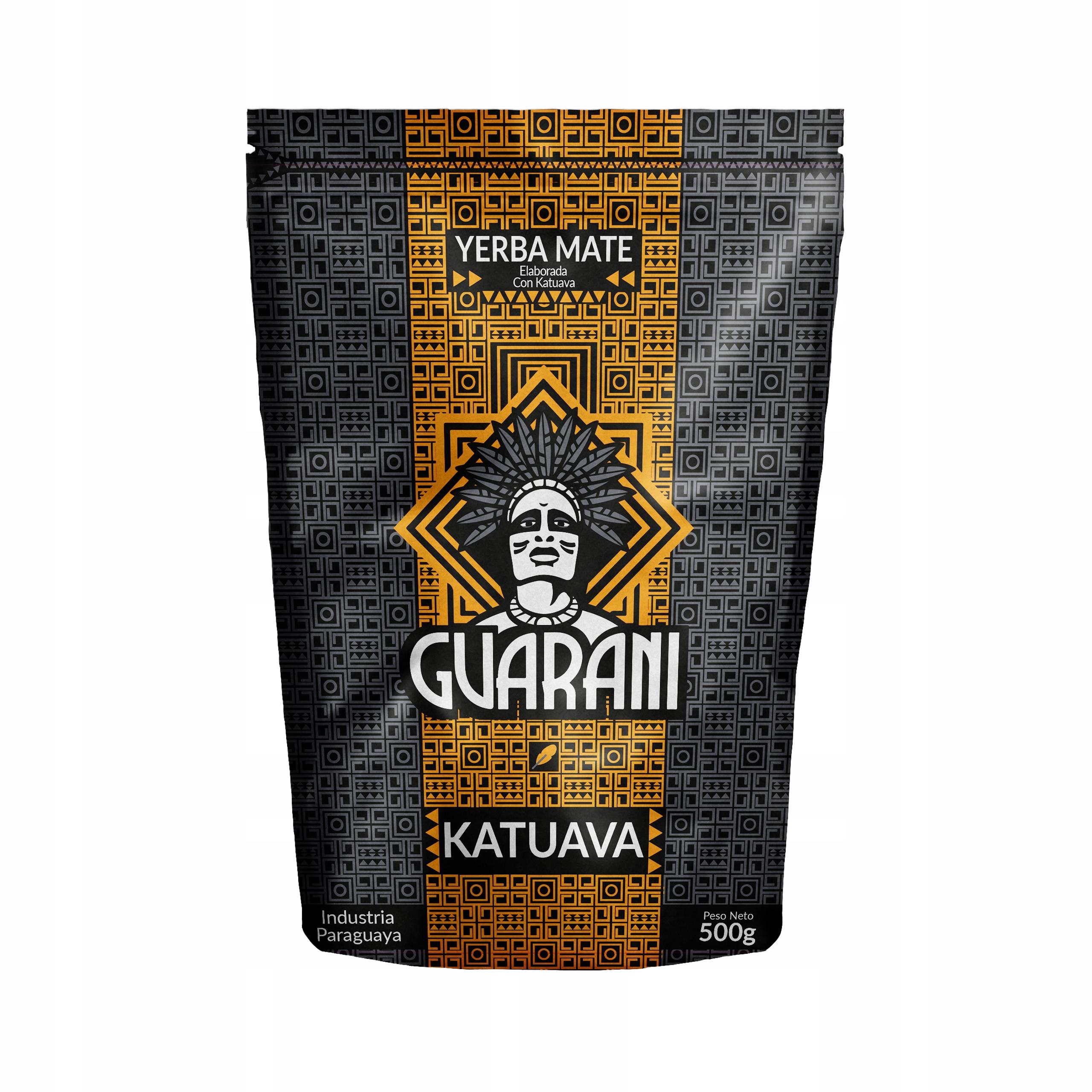 Item Yerba Mate the Guarani Katuava 0.5 kg 500g PARAGWAJSKA