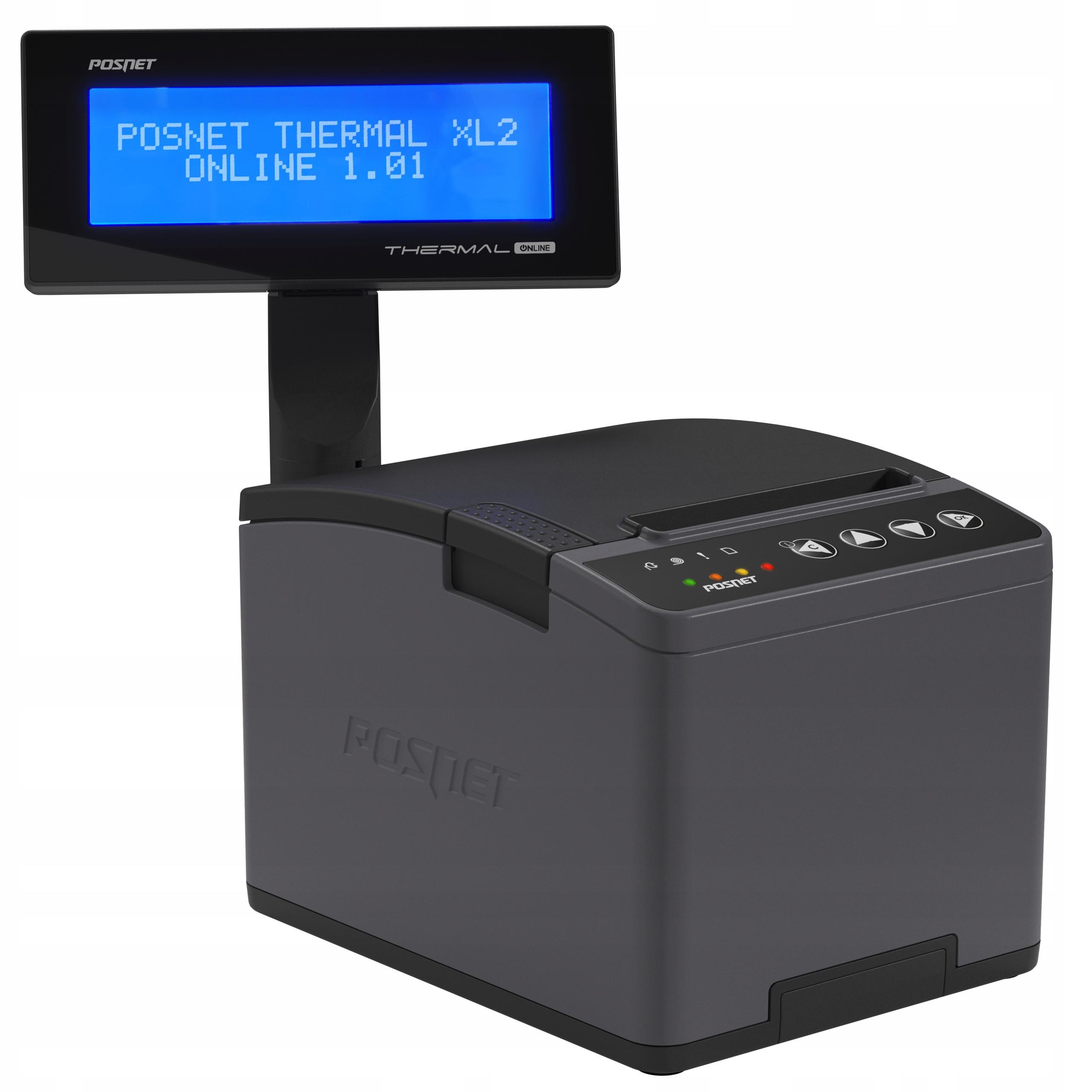 Fiškálna tlačiareň POSNET Thermal XL2 Online WiFi