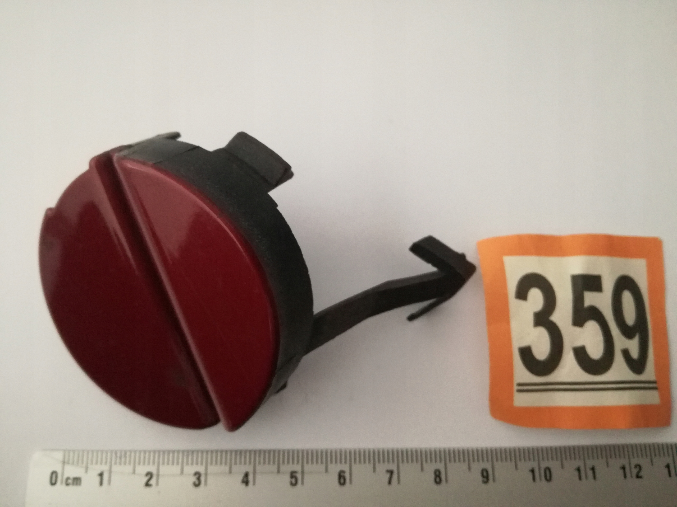359 COVER HOOK RENAULT TWIN