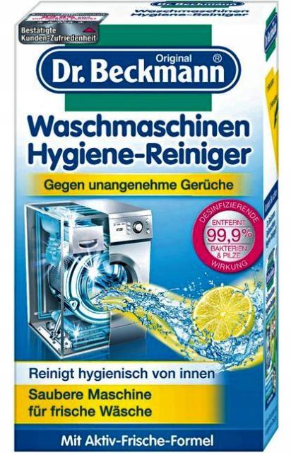 DR.BECKMANN czyścik pralki w proszku 250g NIEMCY