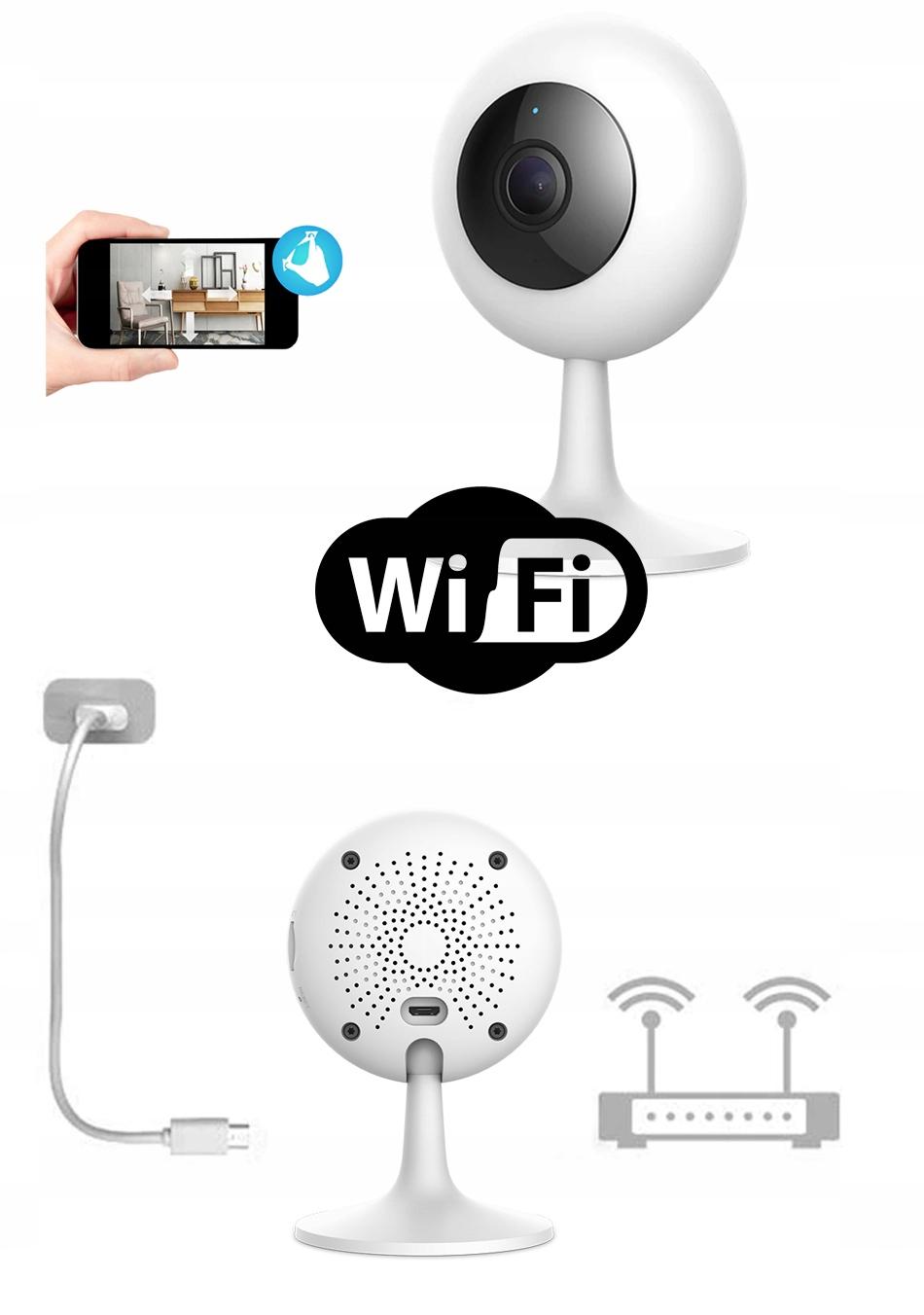 IMILAB MI HOME 1080p H.265 Kamera IP 64GB NIANIA Zasięg podczerwieni 10 m