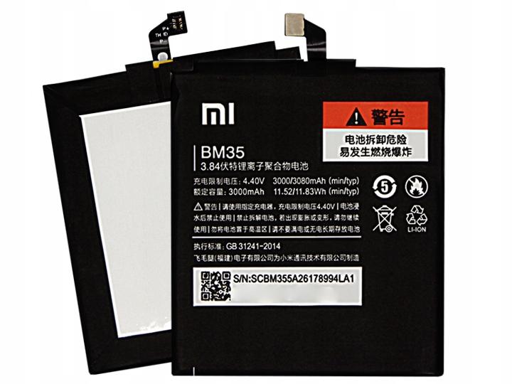 Oryginalna Bateria Xiaomi BM35 Xiaomi Mi 4C