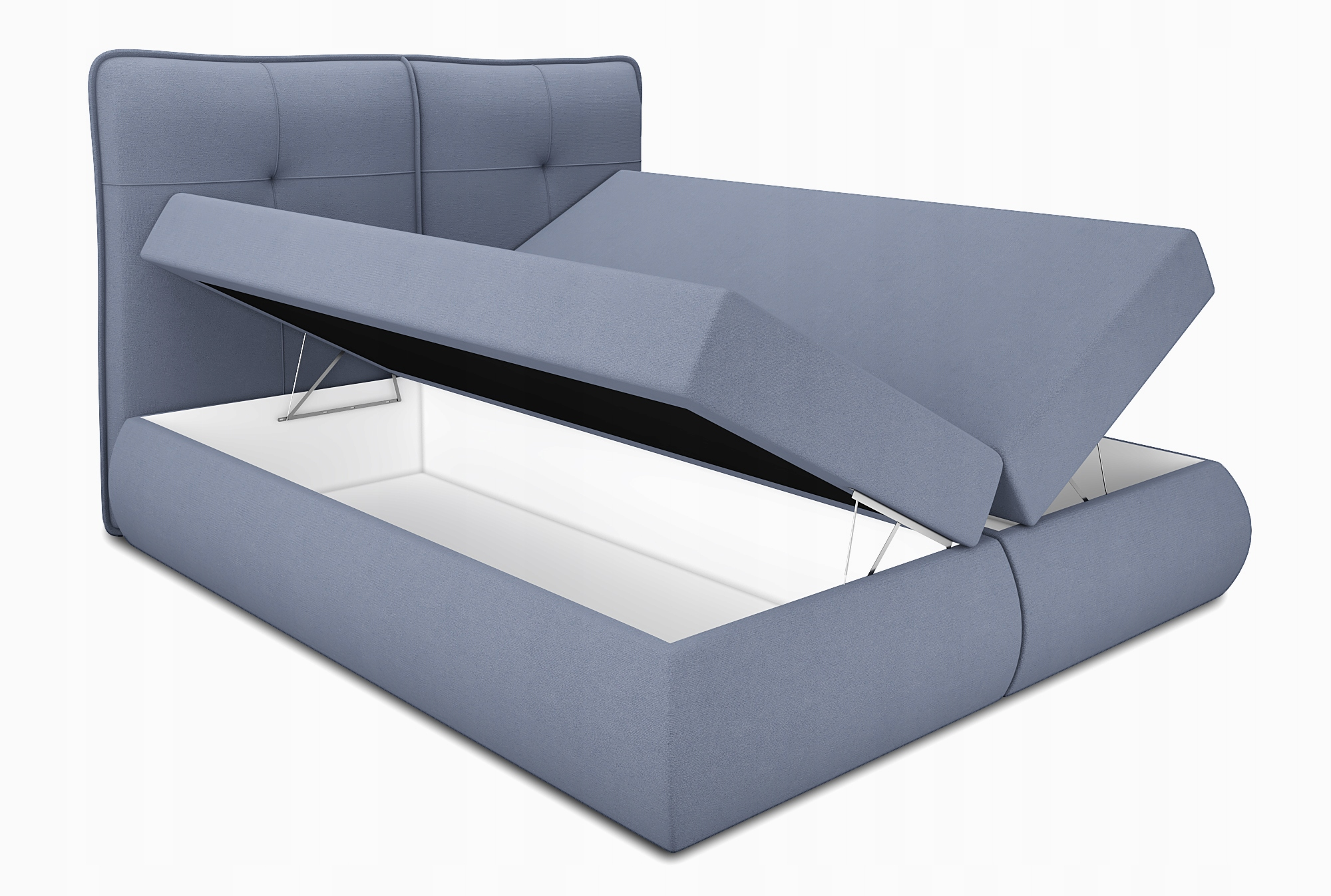łóżko Kontynentalne 180x200 młodzieżowe OTI Rodzaj łóżka Podwójne