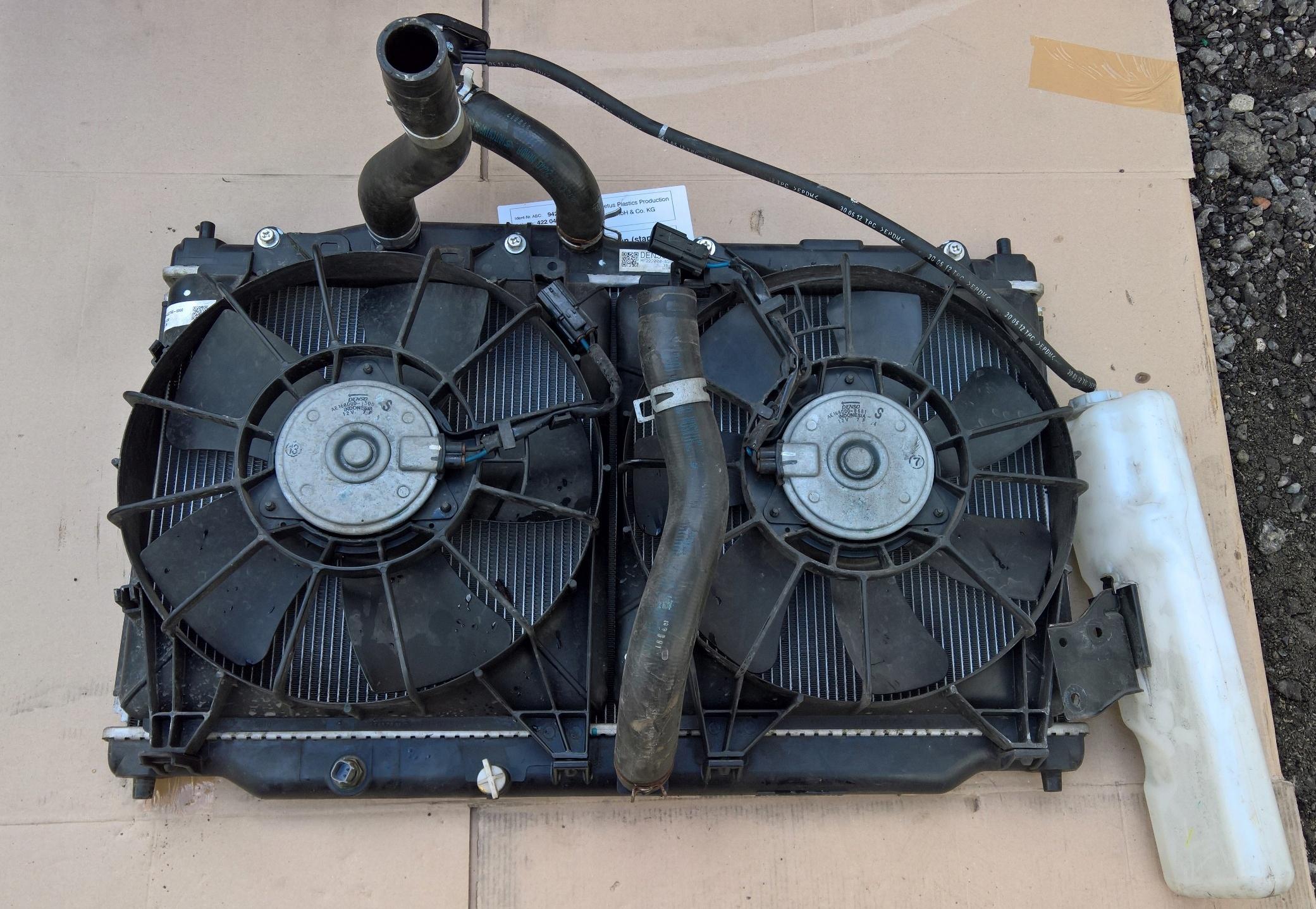 радиатор воды кондиционирования воздуха honda civic ix 5d компл