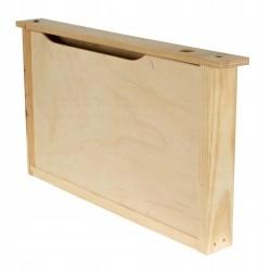 Podkarmiaczka ramkowa 2,5 L drewniana WIELKOPOLSKA
