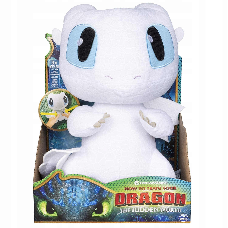 Nová DRAGONom vycvičená dračia plyšová hračka s maskotom 36 cm