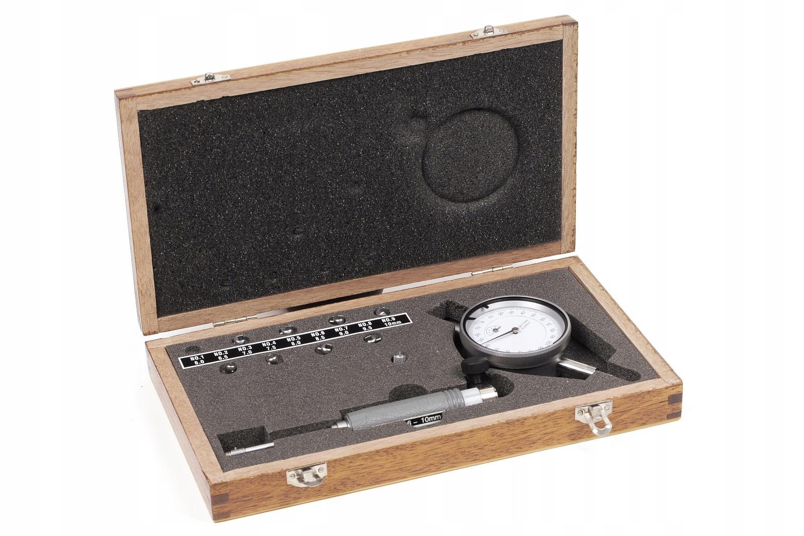 ŚREDNICÓWKA ZEGAROWA 6-10mm 0,001mm