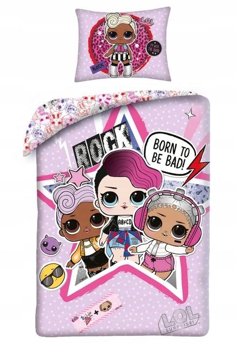 BEDDING 140x200 LOL Surprise Baby Lole Dolls