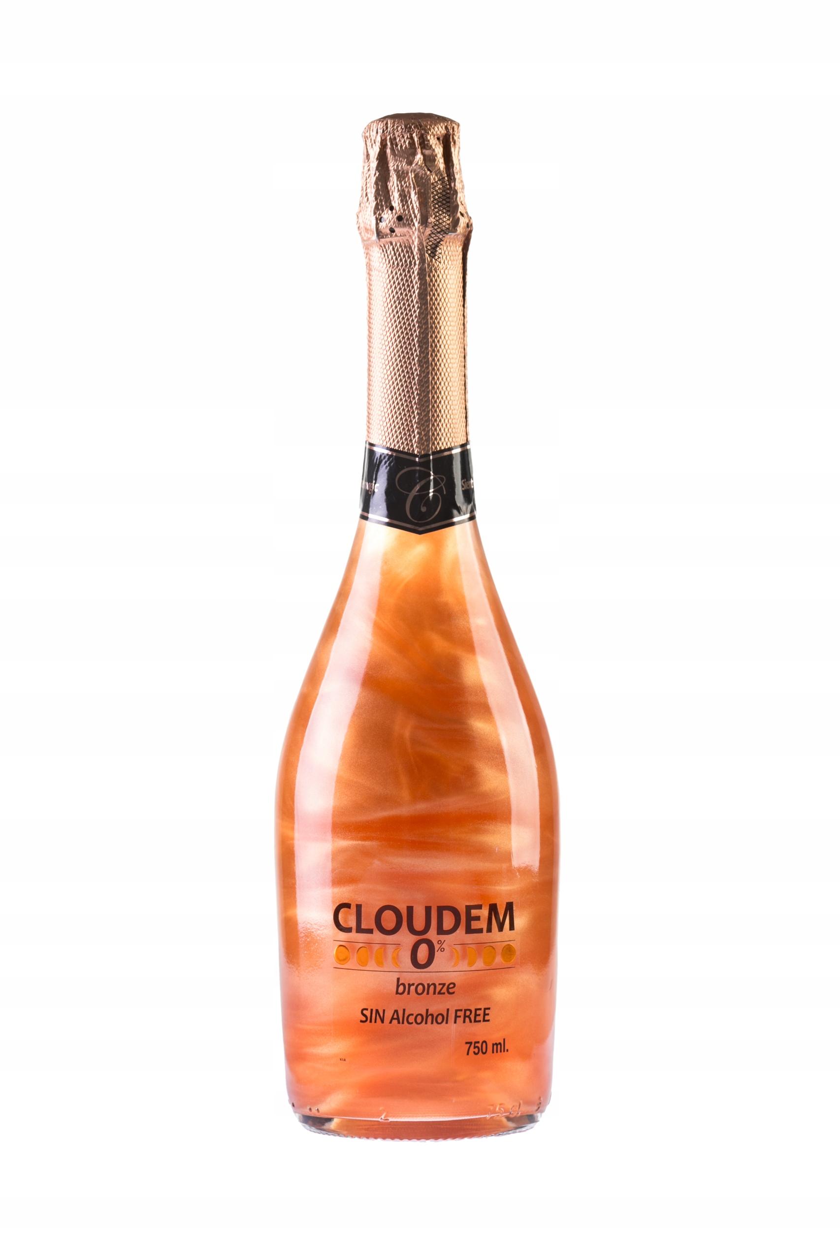 Напиток искристый Cloudem блеск безалкогольный brąz0%