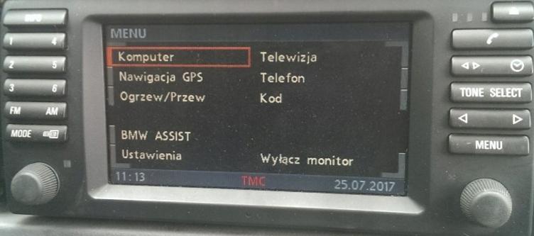 польские меню лектор карты bmw x3 e83 x5 e53 e46 e39