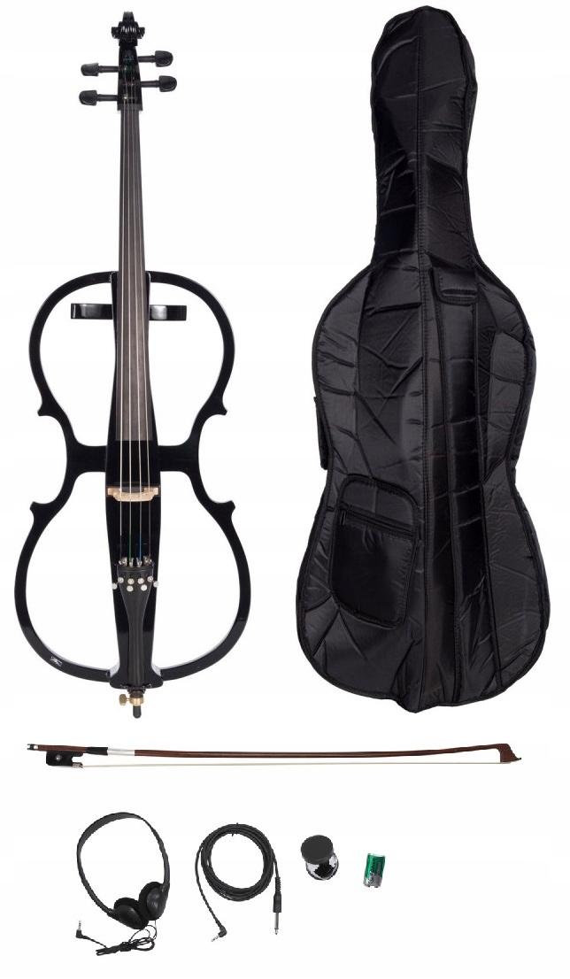 Item Cello 4/4 electric M-tunes 008BE KIT!