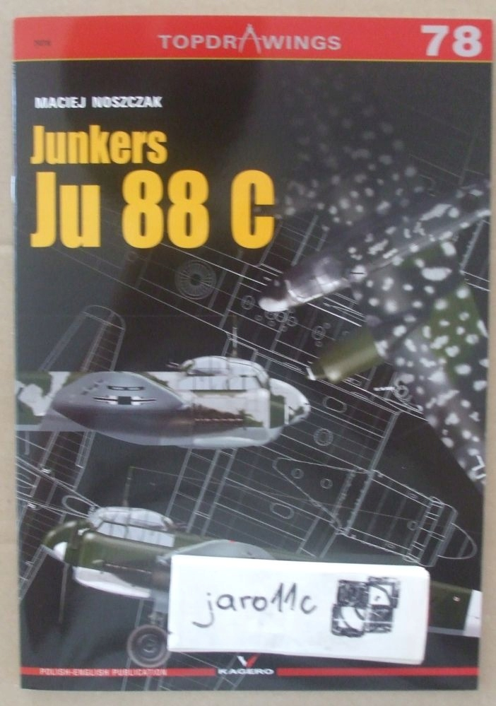 Junkers Ju 88C - Кагеро Topdrawings доставка товаров из Польши и Allegro на русском