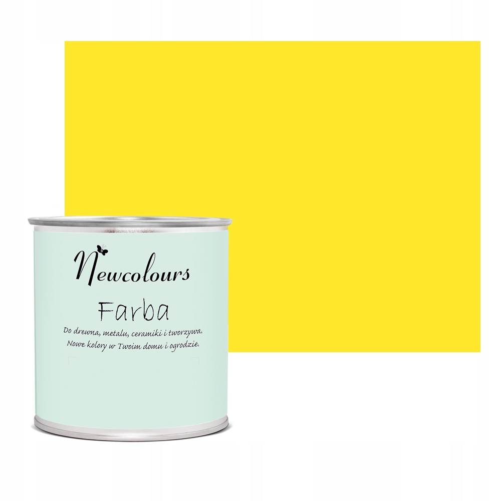 Farba do mdf Newcolours SŁONECZNY PORANEK 200ml