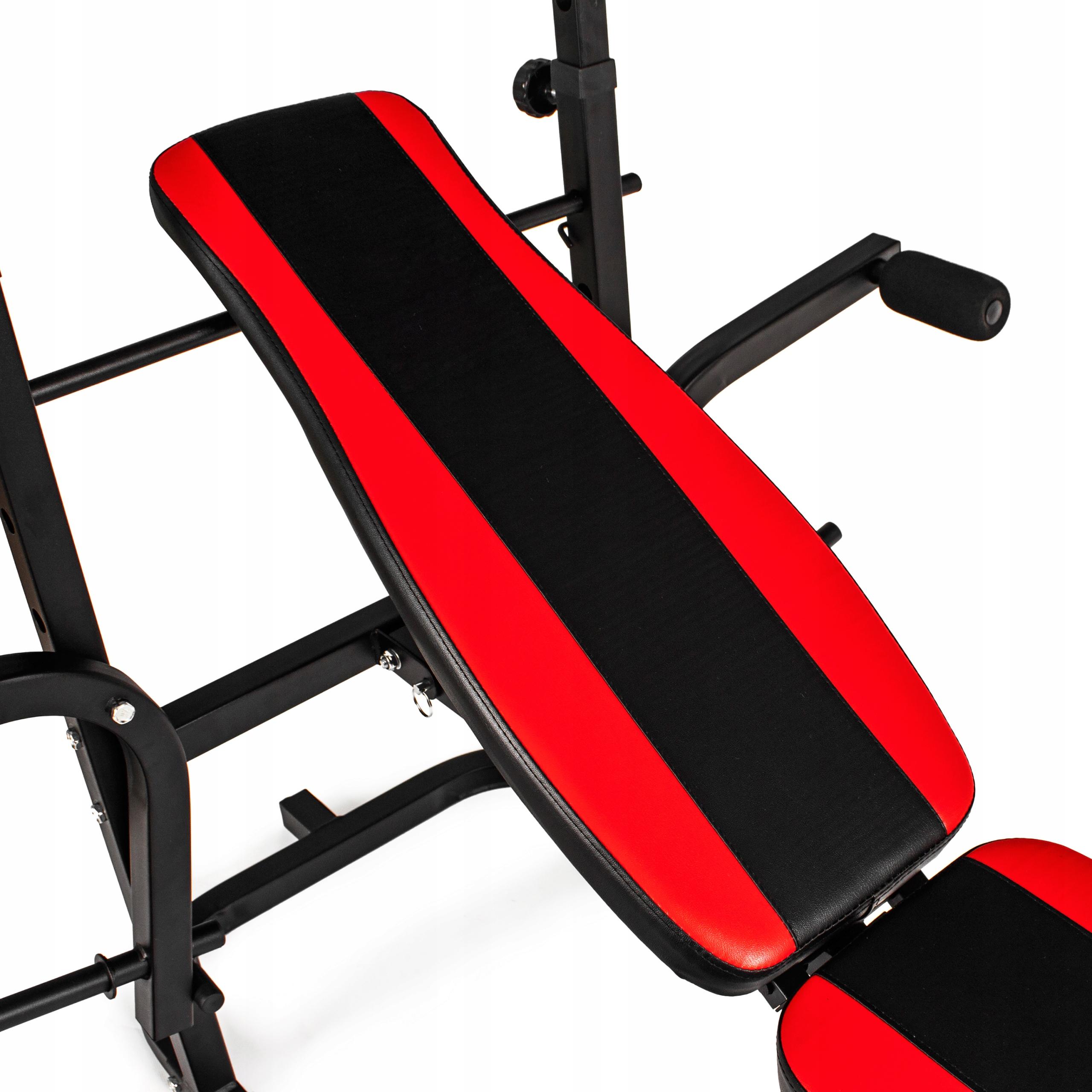 Xylo siłownia 191 kg zestaw ŁAWKA+GRYFY+OBCIĄŻENIA EAN 5903228925344