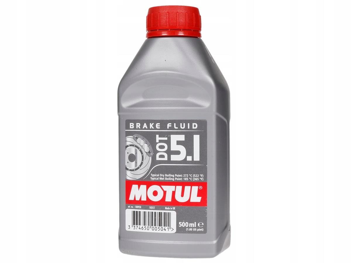 Тормозная жидкость Motul DOT 5.1 500ml МОТОЦИКЛЫ с ABS