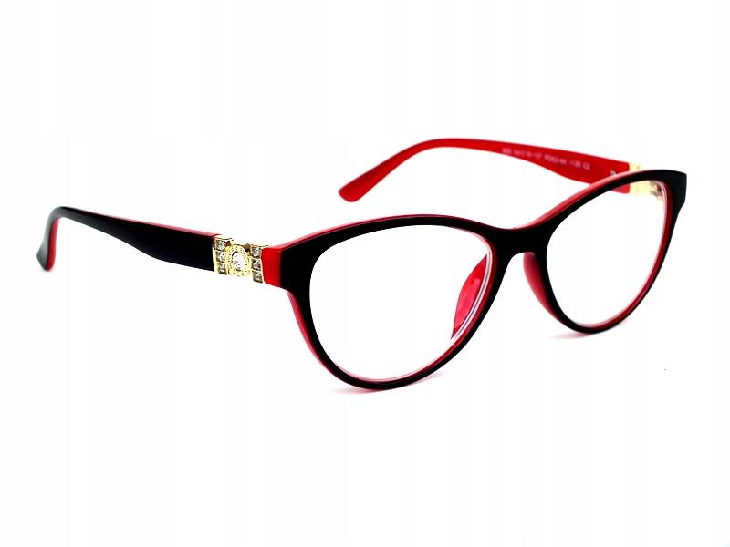 slnečné okuliare žien plus +3 červené/cz retro cirkus opt